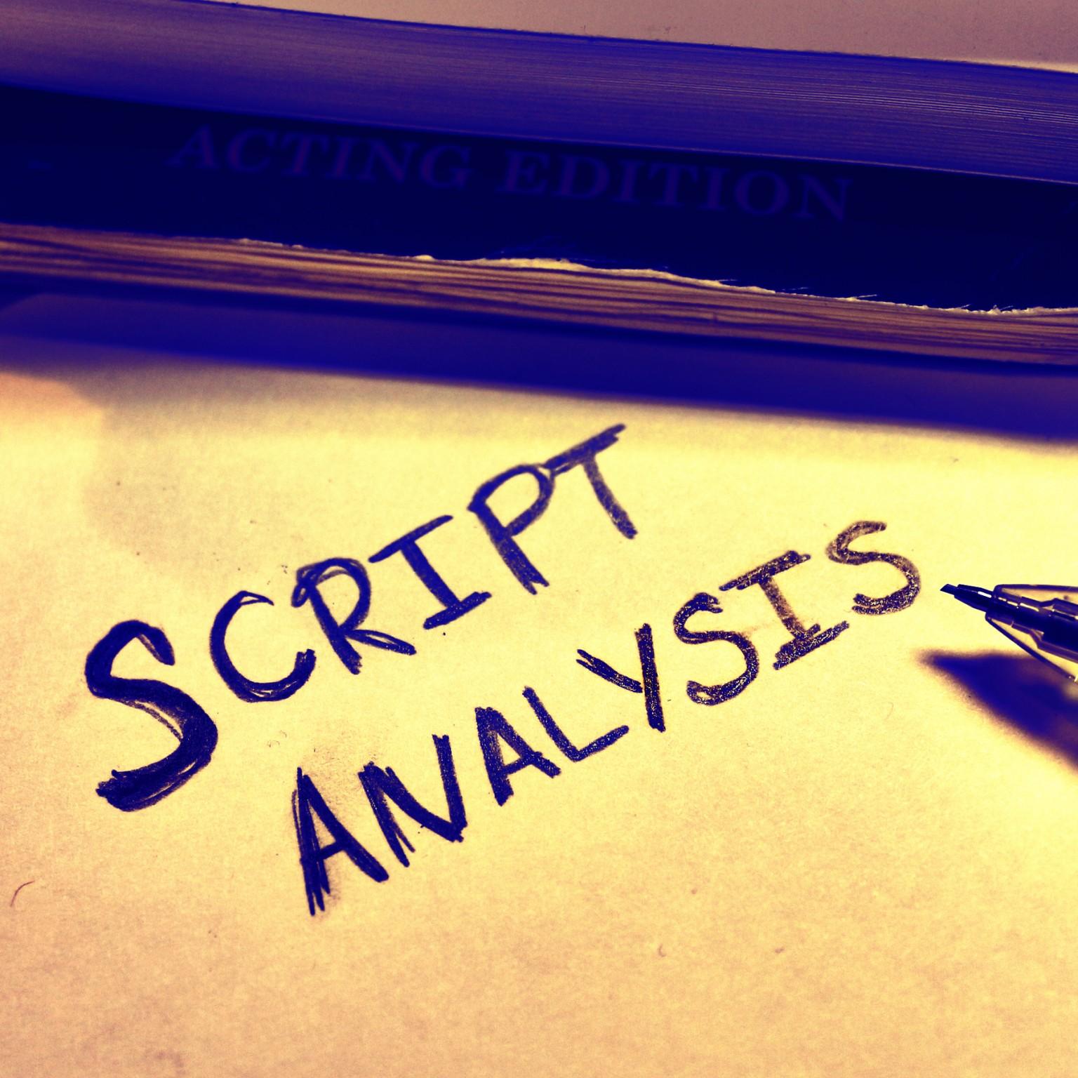 8 Script Analysis