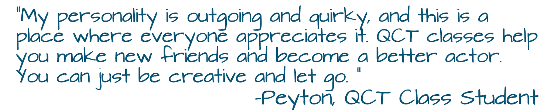 Class Testimonial (Peyton)