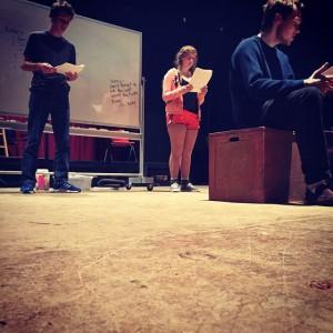 Snowflakes Rehearsal