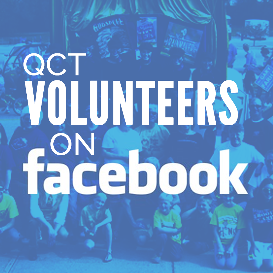 QCT volunteers on facebook