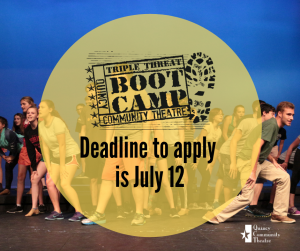 Apply by July 12 for Triple Threat Boot Camp