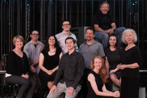 Photo Features (from left to right):   1st Row: Ziven Crist, Kristie Bradshaw  2nd Row: Jeri Conboy, Ruth Kummerow, Randy Wolfmeyer, Adrienne Fisk, Doris Malacarne  3rd Row: Luke Lawson, Jasper Grossman, Dan Conboy